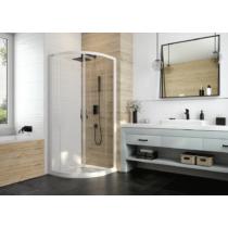 Sanplast KP4/BASIC-80-S biewW0 íves tolóajtós zuhanykabin (5mm) 190 cm magas
