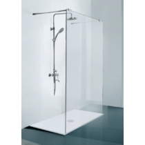 Sanotechnik Freedom I zuhanyfal Easy Clean (8 mm) 195cm magas