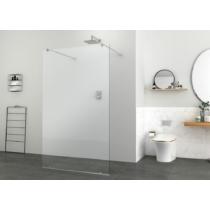 Sanotechnik Elegance Walk-In zuhanyfal (8 mm) 195cm magas