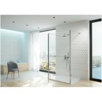 Sanplast PII/ALTIIa-120-S cm/sbW0 Térben álló Walk-in zuhanyfal