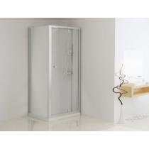 Sanotechnik Aszimmetrikus sarokkabin pivot ajtóval (5 mm) 185cm magas