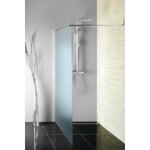 Aqualine Walk In Fix zuhanyfal, 70x190cm magas, brick üveg