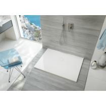 Sanplast  B-M/OPEN 80x100x1,5 fehér öntött márvány zuhanytálca