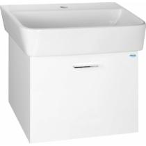 Aqualine Zoja mosdótartó szekrény, 1 fiókos, 46,5x44x35,6cm, fehér