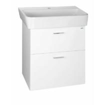 Aqualine Zoja mosdótartó szekrény, 2 fiókos, 56x50x35,6cm, fehér