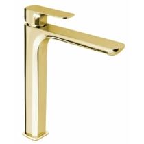 Spy magasított mosdócsaptelep leeresztő nélkül, arany