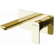 Spy falba süllyesztett mosdócsaptelep, arany