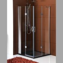 Sapho Gelco Legro szögletes zuhanykabin, 900x900mm (8mm) 190cm magas
