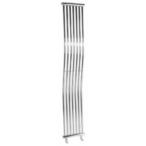 Sapho ONDA fürdőszobai radiátor, 300x1700 mm, 400W, króm