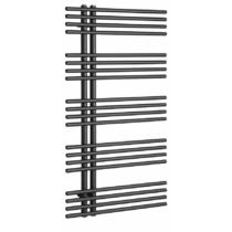 Sapho NYMPHA fürdőszobai radiátor, 600x1122mm, 485W, metál antracit