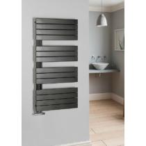 MILI fürdőszobai radiátor, 550x1296mm, 600W, antracit