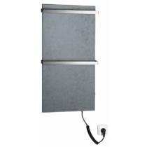 Sapho ELMIS elektromos radiátor, 400x800mm, 100W, matt antracit