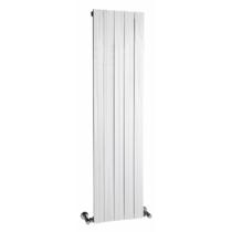 Sapho MIMOSA fürdőszobai radiátor, 370x1500mm, 585W, aluminum, fehér