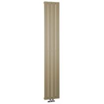 Sapho COLONNA fürdőszobai radiátor, 298x1800mm, 614W, metál mokka