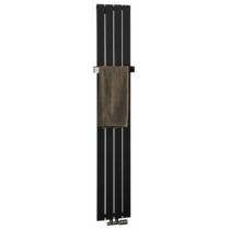 Sapho COLONNA fürdőszobai radiátor, 298x1800mm, 614W, texturált pala