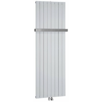 Sapho COLONNA fürdőszobai radiátor, 602x1800mm, 1205W, metál ezüst
