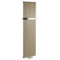 Sapho COLONNA fürdőszobai radiátor, 450x1800mm, 910W, metál mokka