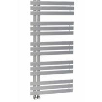 Sapho SILVANA fürdőszobai radiátor, 500x1236mm, 561W, metál ezüst