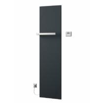 Sapho ELION elektromos fürdőszobai radiátor termosztáttal, 456x1765mm, 600W, metál antracit