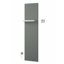Sapho ELION elektromos fürdőszobai radiátor termosztáttal, 456x1765mm, 600W, metál ezüst