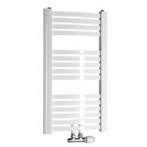 Aqualine STING fürdőszobai radiátor, 450x817mm, 328W, fehér