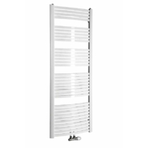 Aqualine STING fürdőszobai radiátor, 650x1741mm, 968W, fehér