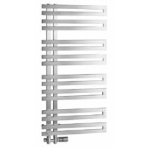 Sapho VOLGA fürdőszobai radiátor, 500x976mm, 265W, szálcsiszolt inox
