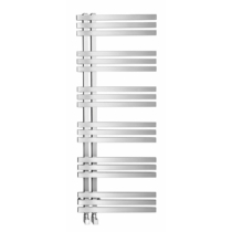 Sapho VISTA fürdőszobai radiátor, 500x1190mm, 307W, szálcsiszolt inox