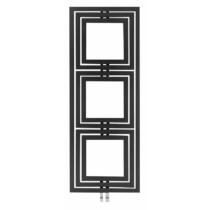 Sapho TRIPOLI fürdőszobai radiátor, 600x1620mm, 741W, strukturált antracit