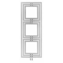 Sapho TRIPOLI fürdőszobai radiátor, 600x1620mm, 741W, strukturált ezüst