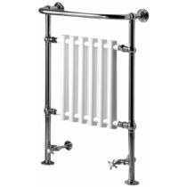 Sapho CORK fürdőszobai radiátor, 675x960mm, 550W, króm/fehér
