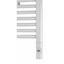 ENIX Elektromos termosztátos fűtőpatron radiátorhoz, távirányítóval, 600W, D forma, fehér