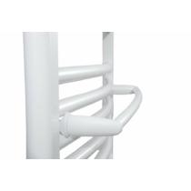 Aqualine törölközőtartó egyenes radiátorra, 50cm, fehér
