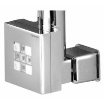 KTX WALL Elektromos termosztátos fűtőpatron, 400W, króm