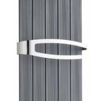 NOLINA törölközőtartó radiátorra, polírozott inox