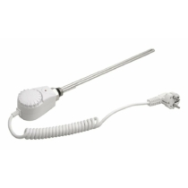Aqualine Elektromos fűtőpatron termosztáttal, 300W, fehér
