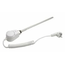 Aqualine Elektromos fűtőpatron termosztáttal, 600W, fehér