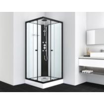 STIL 1 hidromasszázs zuhanykabin, fekete