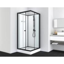 UNI 1 komplett zuhanykabin, fekete