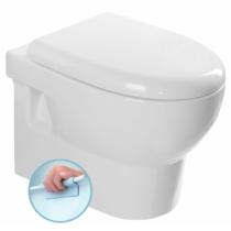Aqualine Absolut Rimless fali WC, 35x50cm, ülőke nélkül