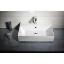 Aqualine SISTEMA kerámiamosdó, pultra vagy falra szerelhető, 60x42cm