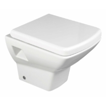 Aqualine SOLUZIONE fali WC, 35x50,5cm, WC-ülőke nélkül