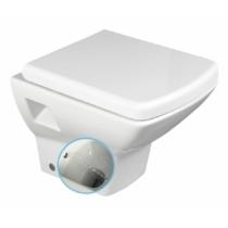 Aqualine SOLUZIONE fali WC, beépített bidézuhannyal, 35x50,5cm, WC-ülőke nélkül