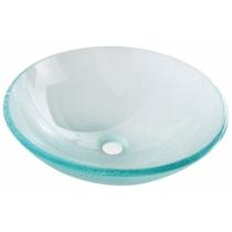 Sapho BEAUTY ICE üvegmosdó, átm:42x14cm,