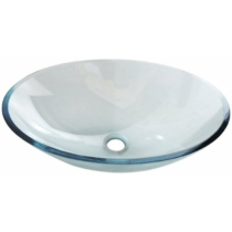Sapho BEAUTY PURE üvegmosdó, ovális, 52x37,5x13,5cm