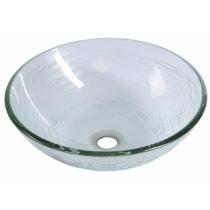Sapho BEAUTY RIPPLE üvegmosdó, átm:42x14cm