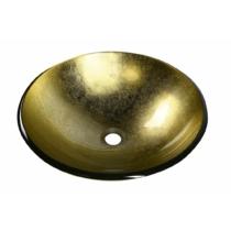 Sapho BEAUTY SHAY üvegmosdó, átm:42x14cm, arany