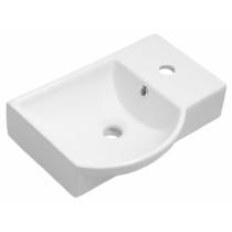 Sapho LITOS kerámia mosdó, jobbos, 45x32cm