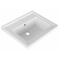 Aqualine ZENO kerámiamosdó, 60x48,5cm