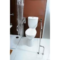 Sapho DISABLE WC mozgássérülteknek tartállyal, 49,5cm, WC-ülőke nélkül